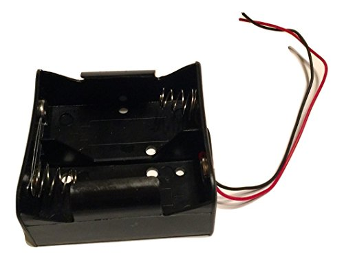 D Cell Battery Holder (2X) with 6