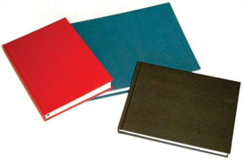 Skizzenbuch D&S - A5, 140 g/m², 80 Blatt, HF=Hochformat Das stabile schwarze Cover schützt die fadengehefteten naturweißen Blätter. Zeichnungen mit Bleistift, Kohle, Rötel, Finelinern,