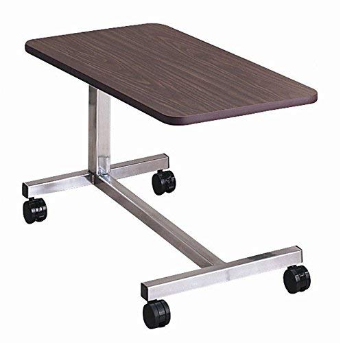 Overbed Non-Tilt Computer Hospital Bed Tray Bedside Tray Table:New by WW shop by WW shop