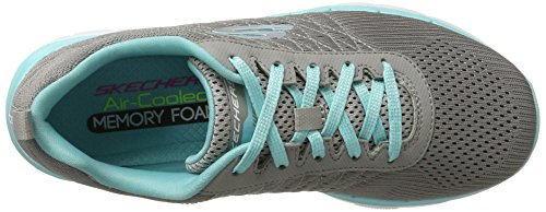 Appeal 2 Femme Skechers Baskets Gris Flex 0 P40wE5Sxpq