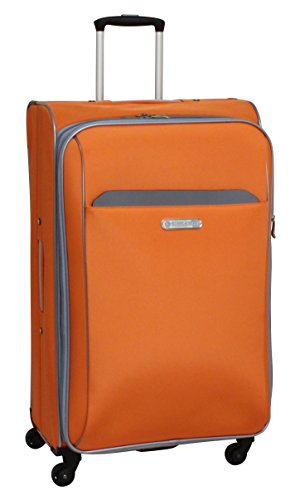 swiss-cargo-trulite-28-inch-spinner-luggage-orange-silver-checked-large