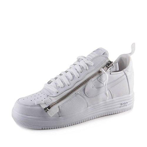 Nike Mens Lunar Force 1 Acronym 17 White Leather Size 12