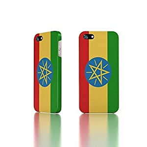 Apple iPhone 5 / 5S Case - The Best 3D Full Wrap iPhone Case - Ethiopia Flag