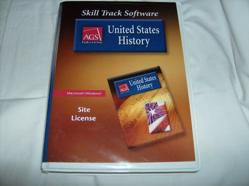 AGS Publishing United States History- Skill Track Software