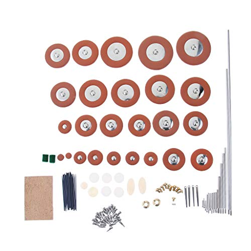 Tenor Sax Part - Flameer Tenor Saxophone Repair Parts Rollers Bolts+Screws+Cork+Pad+Spring Needle