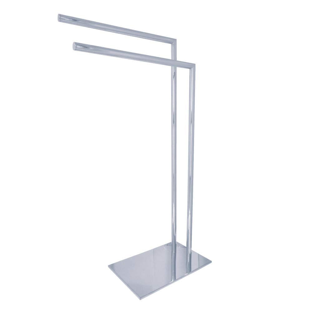 Kingston Brass Pedestal Dual Towel Rack, SCC8321, 0V