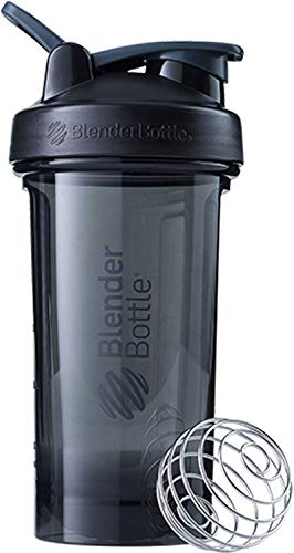 - BlenderBottle Pro Series Shaker Bottle, 24-Ounce, Black