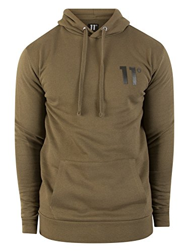 11 Degrees Over Hoodie Logo Pull Vert Core Homme 4ZSqW4r