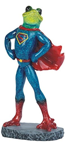 GSC StealStreet Frog in Superman Costume Figurine, 8.25""