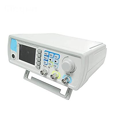 SISHUINIANHUA JDS6600-60M JDS6600 Series 60MHZ Digital Control Dual-Channel DDS Function Signal Generator Frequency Meter Arbitrary