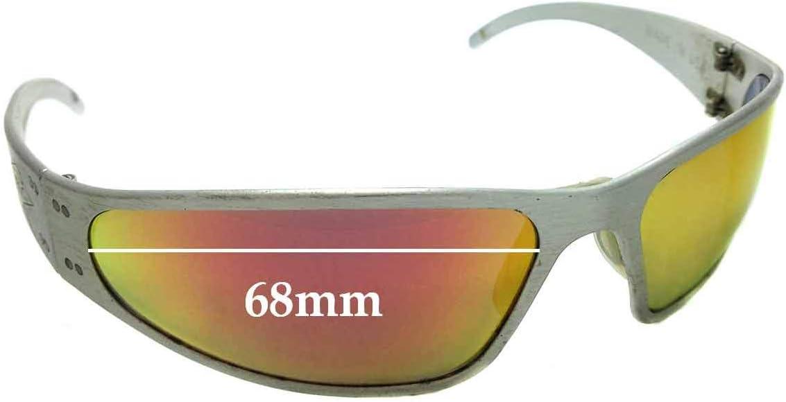 SFX Replacement Sunglass Lenses fits Gargoyles Legends II 68mm Wide