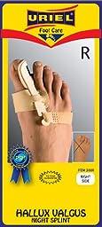 Meditex Bunion Hallux Valgus Nighttime Splint - Right