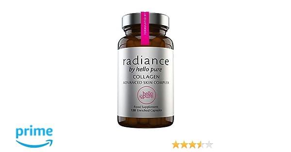 Nuevo colágeno altamente enriquecido con ácido hialurónico, vitamina C, vitamina E y cacao - Suplemento para el cuidado de la piel de mujeres y hombres ...