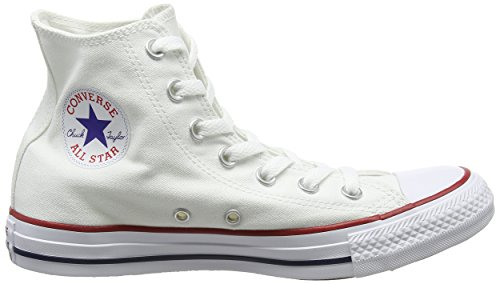 Converse Unisex Chuck Taylor All Star Hallo Top Sneaker Optisches Weiß