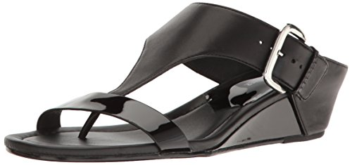 Donald J Pliner Womens Doli4 Wedge Sandal Black q7M5ZQLdl