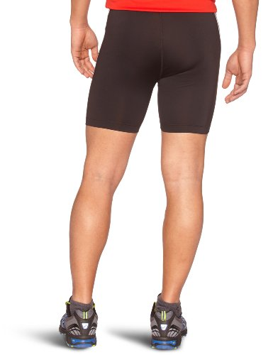 Helly Hansen Pace Tights - Pantaloncini da ciclista, da uomo, nero (nero), S