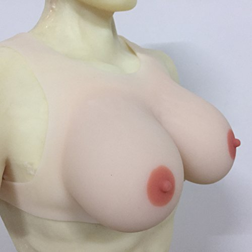IVITA 2400g/pair Large Sexy Soft Fake Breast Boobs Drag Queen Bust by IVITA