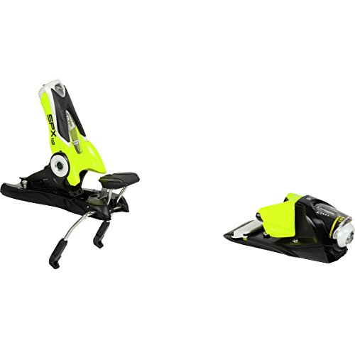 Bindings 120 Mm Brakes - Rossignol Look SPX 12 Dual WTR B120: Ski Bindings (Black/Yellow, One Size)
