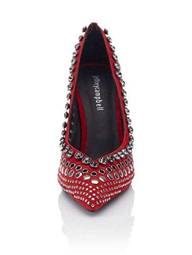 vestir de 38 rojo Rojo para Jeffrey Campbell Zapatos mujer qtnwTtOE