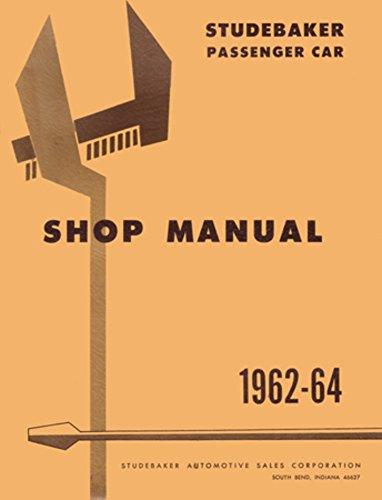 bishko automotive literature 1962 1963 1964 Studebaker Lark Hawk Shop Service Repair Manual Book Engine OEM