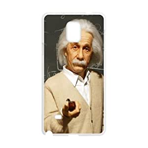 Classic Fashion Einstein Samsung Galaxy Note 4 Cell Phone Case White Trendy Creative funny LOHL3HTY808152