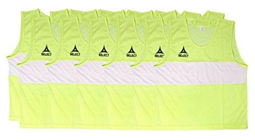 Select Scrimmage Vest (Pack 12), Senior, Yellow ()