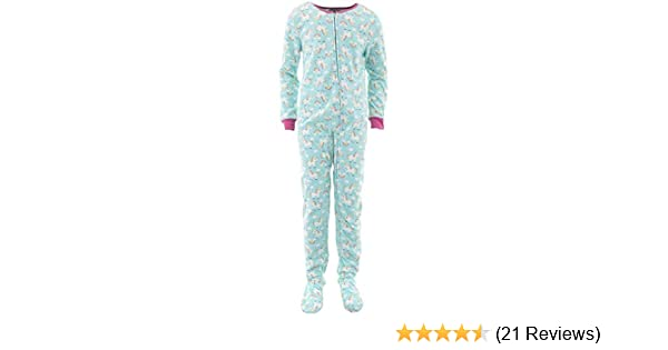 Rene Rofe Girls Fleece Dinosaurs Pink Footed Pajamas Blanket Sleeper