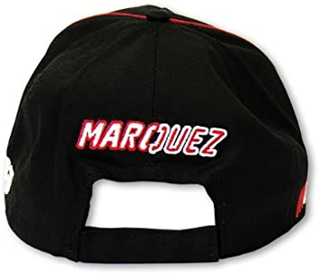 Marc Márquez Motogp Gorra Béisbol Merchandising Oficial Negro 93 ...