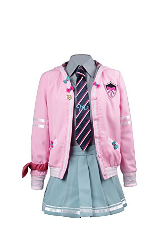 TISEA Japanese Anime Clothes Classic Navy Sailor Suit Short Sleeve Girl Students School Uniforms (US XL, Hatsune -