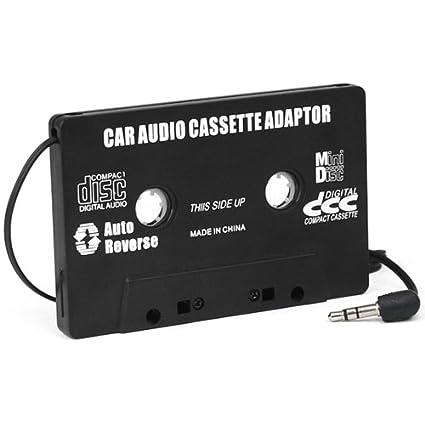 Digiflex Nuevo adaptador negro para cinta de casete para coche convertidor para MP3 CD iPod Nano