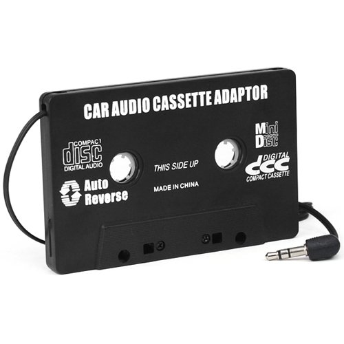 Car Cassette Tape Adaptor for MP3 iPod Nano CD MD by DIGIFLEX PC32
