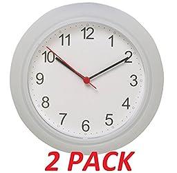 Ikea Wall Clock White (2 Pack) 9.75\