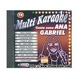 MultiKaraoke OKE-0078 Canta Como Ana Gabriel CDG