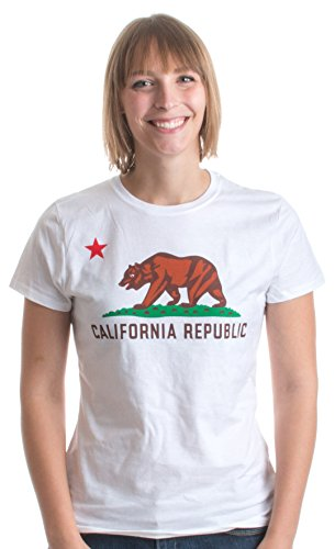California State Flag | Californian State Pride CA Ladies' T-shirt