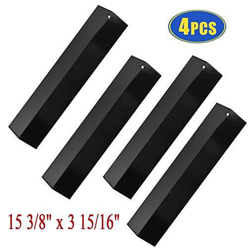 - Bigbox Set of 4 Heat Plate Shields for Brinkmann 810-3660-S, 810-2511-S, 810-2512-S Grill Replacement Parts, 15 3/8