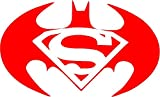 Best Pads With Batman Logos - All About Families BATMAN SUPERMAN LOGO SYMBOL DECAL Review