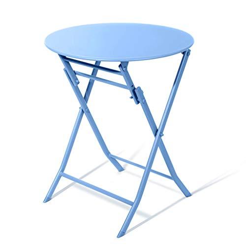 Amazon.com: Mesa plegable simple mesa redonda elegante mesa ...