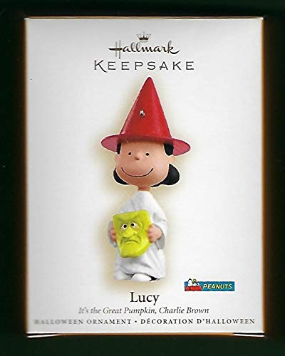 Hallmark 2006 Lucy It's the Great Pumpkin Charlie Brown Peanuts Halloween