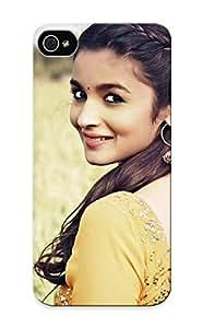 Indusiumzhozi Ultra Slim Fit Hard Case Cover Specially Made For Iphone 5/5s- Alia Bha Actress Beautiful Beauty Bollywood Brunee Celebrity Kimberly Kurzendoerfer