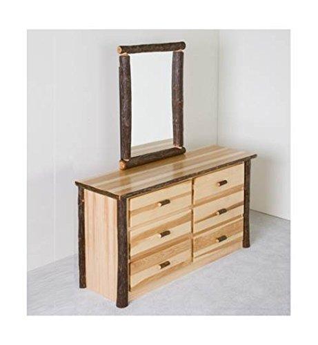 Hickory Log Dresser - 3