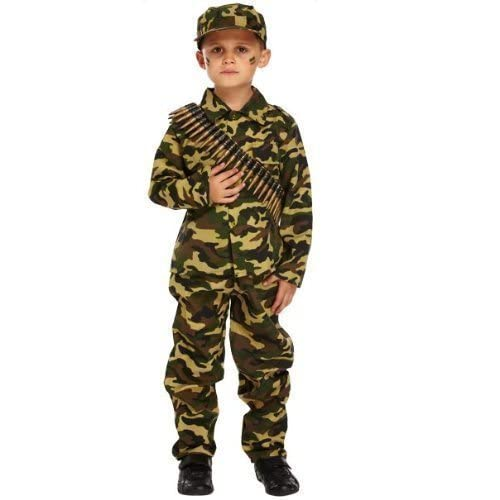 soldier costume for kids amazon co uk