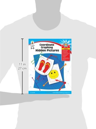 Coordinate Graphing Hidden Pictures, Grades 3 - 5
