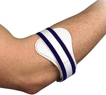 Tennis Golfers Elbow Clasp Support Pain Relief Lateral Epicondylitis Sport Brace