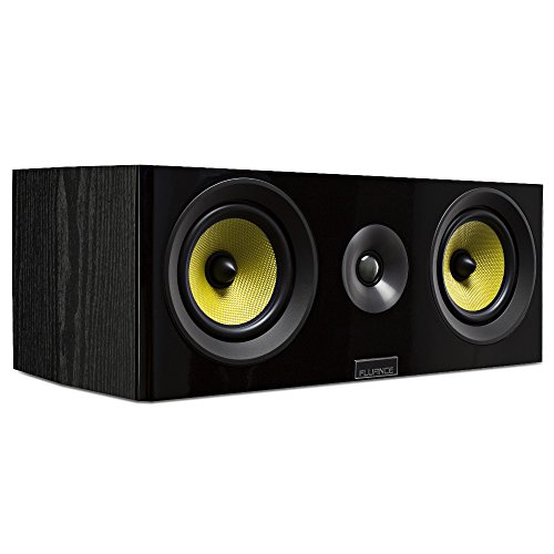 Fluance Signature Series HiFi Two-way Center Channel Speaker for Home Theater (HFC) by Fluance