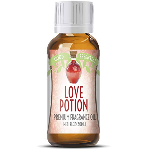 Love Potion Scented Oil by Good Essential (Huge 1oz Bottle - Premium Grade Fragrance Oil) - Perfect for Aromatherapy, Soaps, Candles, Slime, Lotions, and More!