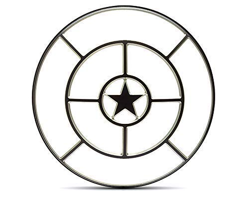 Star Design Moto Cover Fanali 7 Pollici Protezione Scrambler Progetto Retr/ò