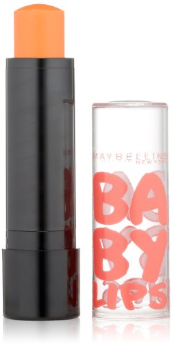 Maybelline New York Baby Lips Balm Electro, Oh! Orange!, 0.15 Ounce
