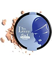 Thin Lizzy 6 in 1 Professional Powder Set - 6 Different Make-up Must Haves Combined Into One Single Compact (LIGHT)
