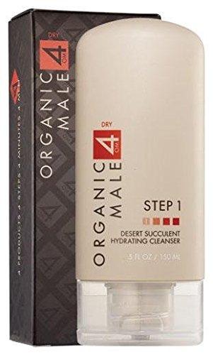 Organic Male OM4 Dry STEP 1: Desert Succulent Hydrating Cleanser - 5 oz