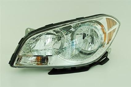 2008 2009 2010 2011 2012 chevy malibu & hybrid (lt ltz ls) headlight  headlamp